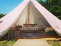 Lincolnshire Lanes Glamping Bell Tent