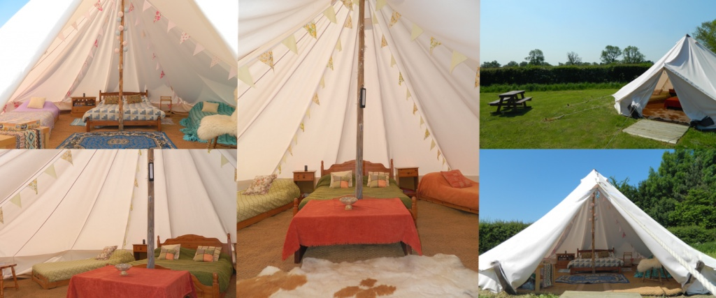 Lincolnshire Lanes Glamping Bell Tents